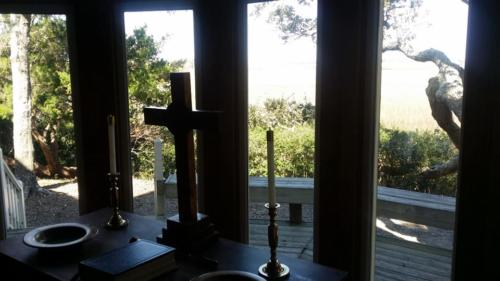 Altar view