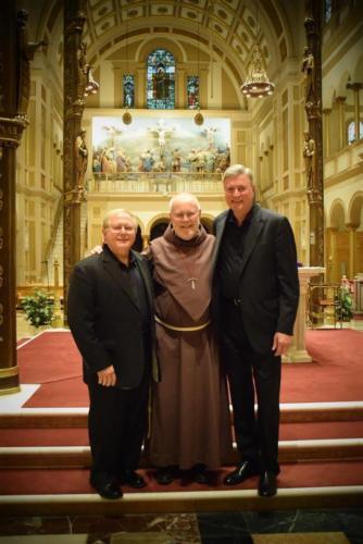 Father Jim Gardiner, gracious host