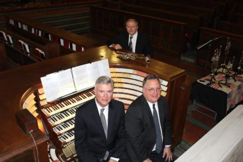 Great organist and host Craig Williams