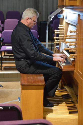 John Leek tracker organ