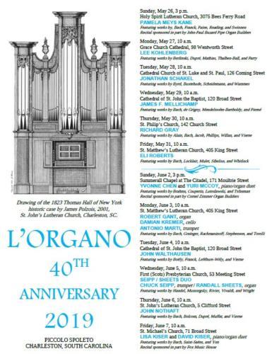 L'Organo 2019